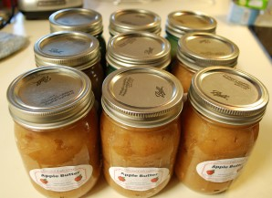 Oops, I printed my old apple butter labels!