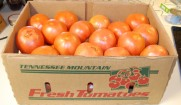 25lb box o tomatoes