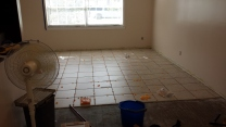 Tiling in progress