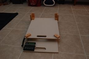 Assembled scale setup