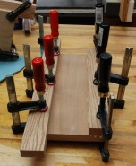 Clamp and glue up