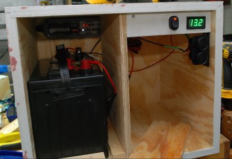 Voltmeter demonstration