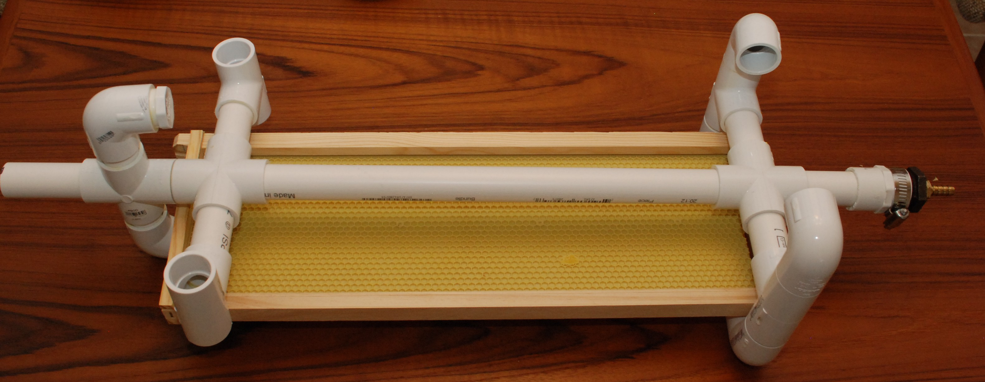 Diy Drill Powered Honey Spinner Kilted Craft Works