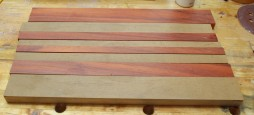 roasted maple and padauk