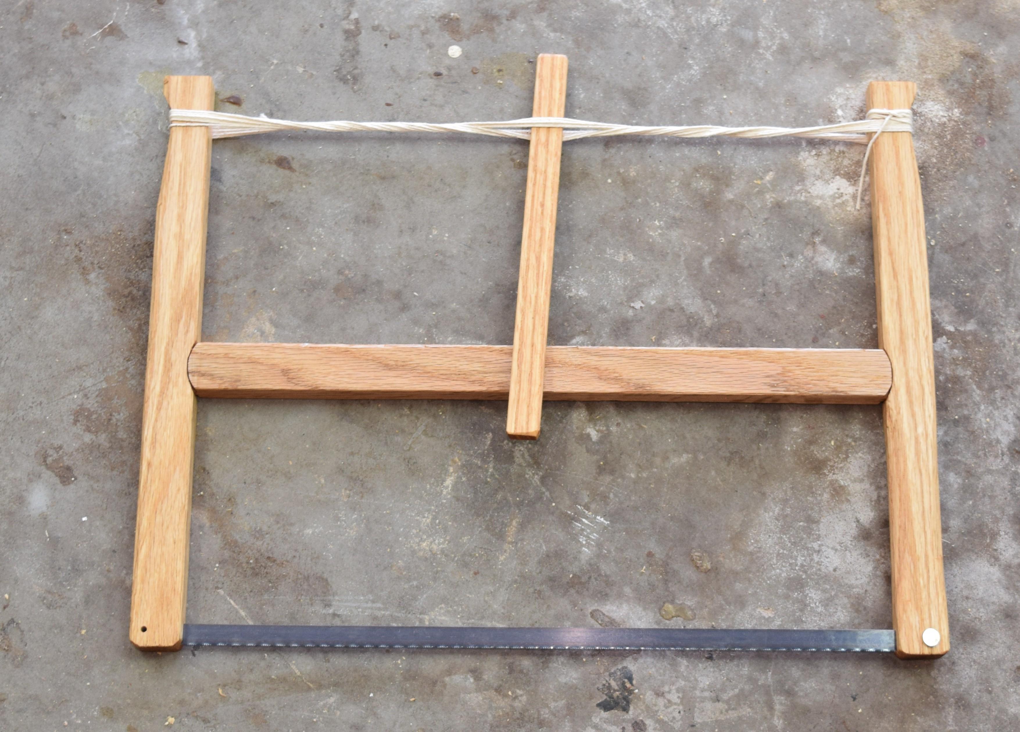 Frame Saw – Giant Hack Saw   Kilted Craft Works