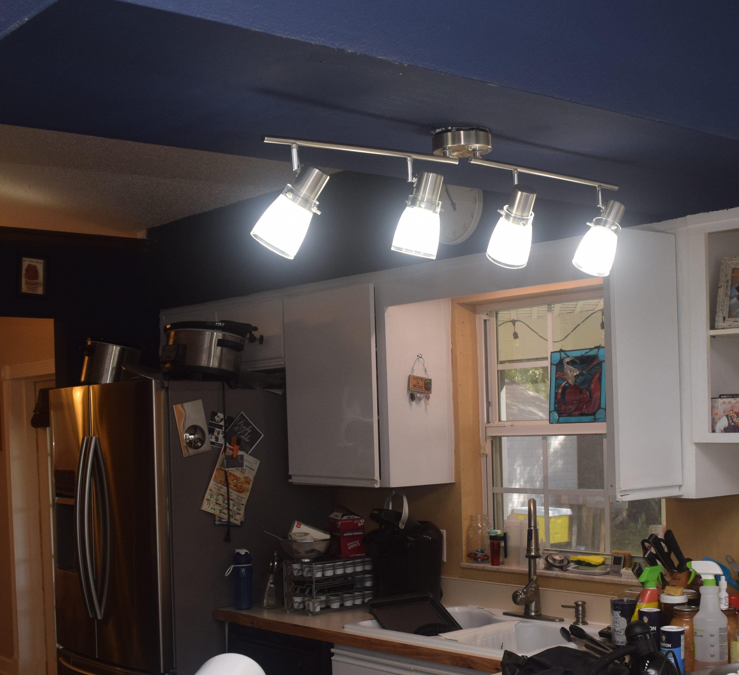 11 Creative Kitchen Upgrades: Kitchen Lighting Upgrade