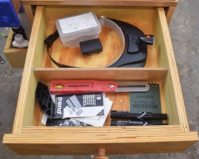 1. Magnifiers, manuals and a few odds